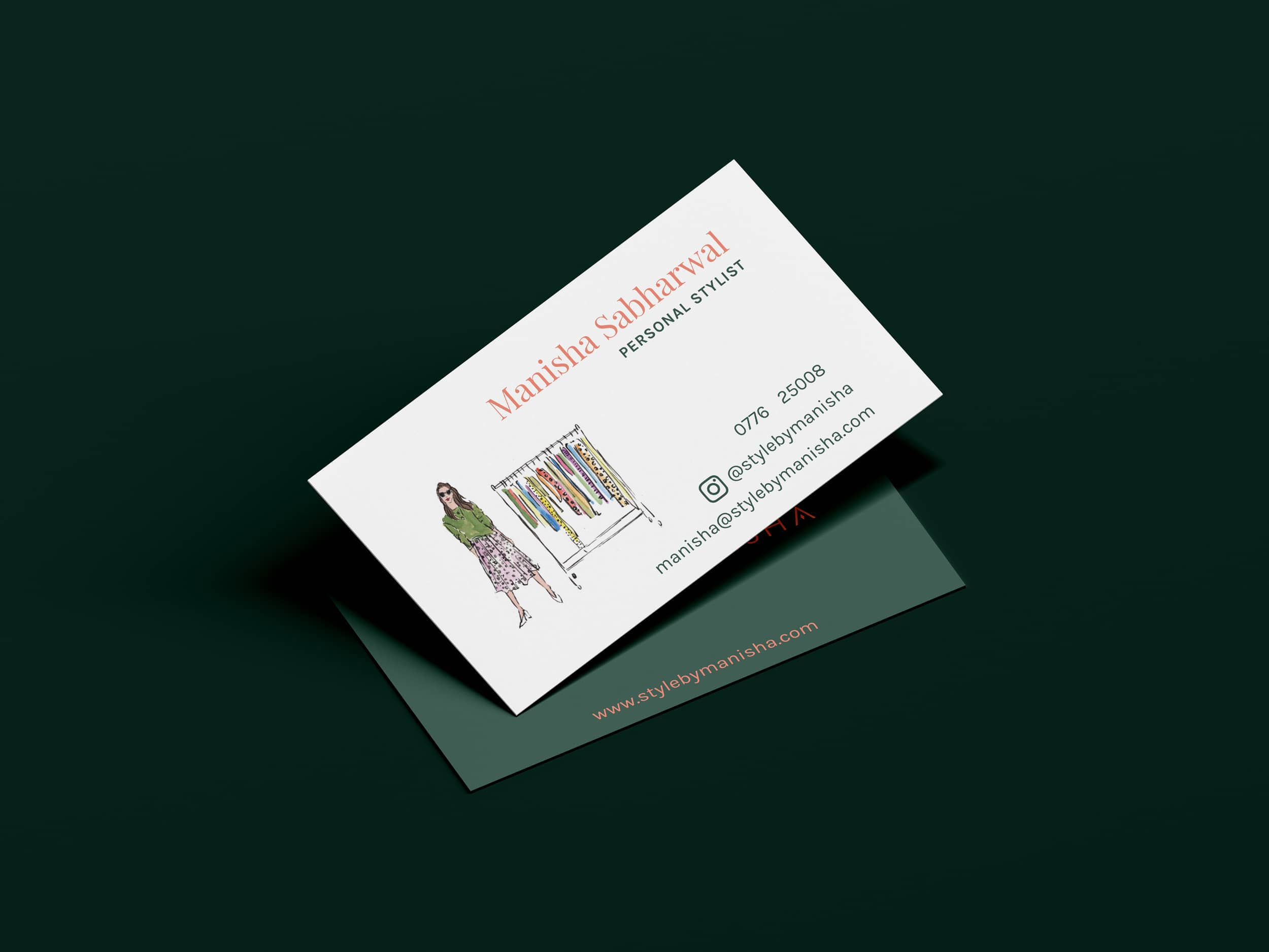 Style by Manisha business card
